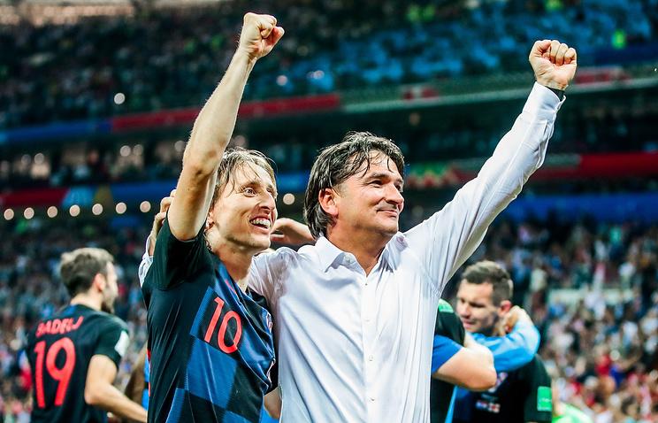 Далич: сборная Хорватии превзошла англичан во всех аспектах игры в полуфинале ЧМ-2018