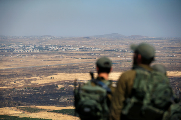 Израиль ударил по сирийской армии