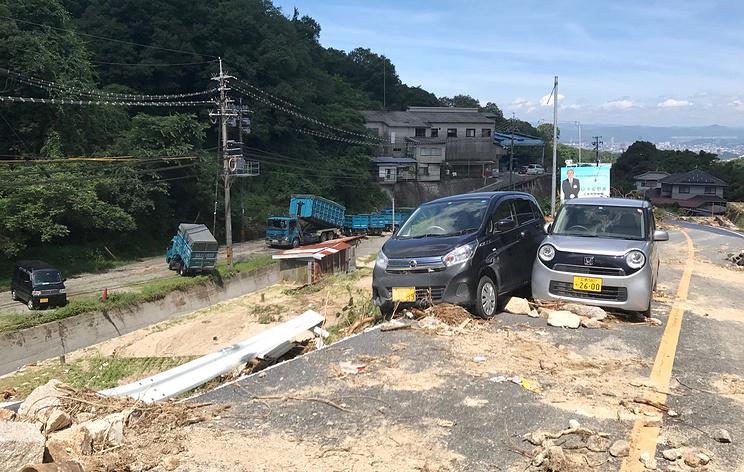 В Японии в результате ливней погибли 216 человек
