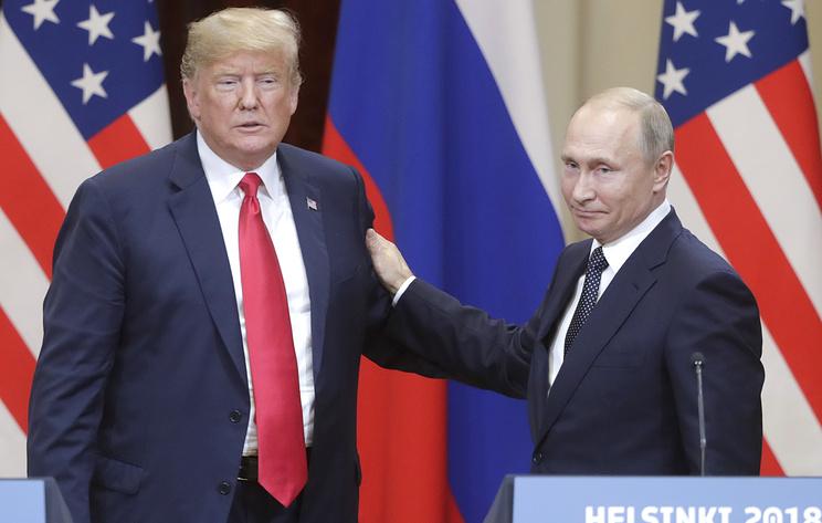 Встреча Путина и Трампа в Хельсинки - первый шаг к нормализации отношений