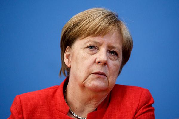 Немцы потеряли Меркель