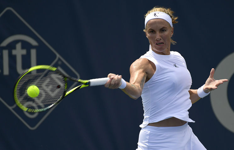 Российская теннисистка Кузнецова вышла в финал турнира в Вашингтоне