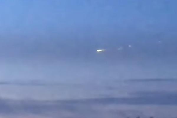 Над Югрой заметили метеорит и сняли на видео