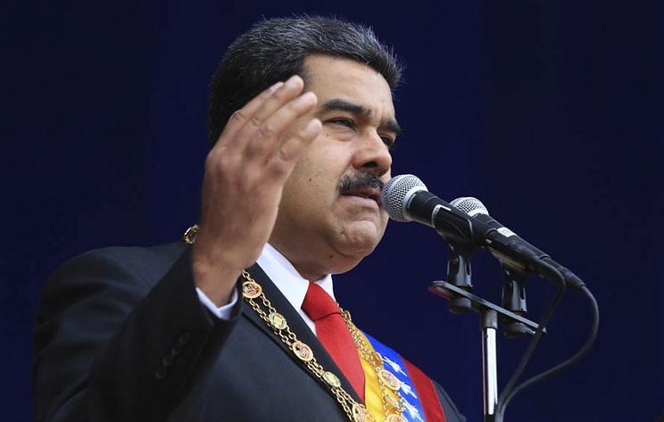 Мадуро обвинил президента Колумбии в причастности к покушению на его жизнь