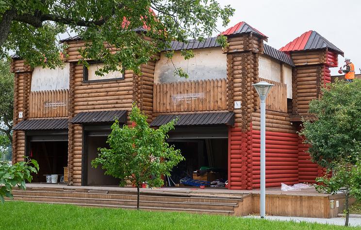 Во Владивостоке началось строительство павильонов ВЭФ