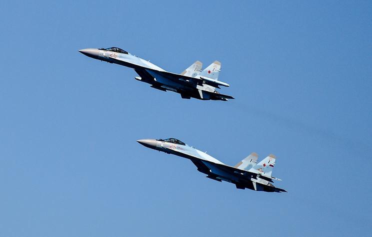 Российские летчики за неделю 14 раз поднимались на перехват иностранных самолетов