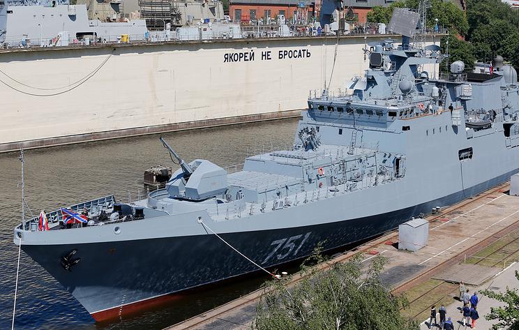 'Известия': фрегат ВМФ России весной отследил американскую подлодку в Средиземном море