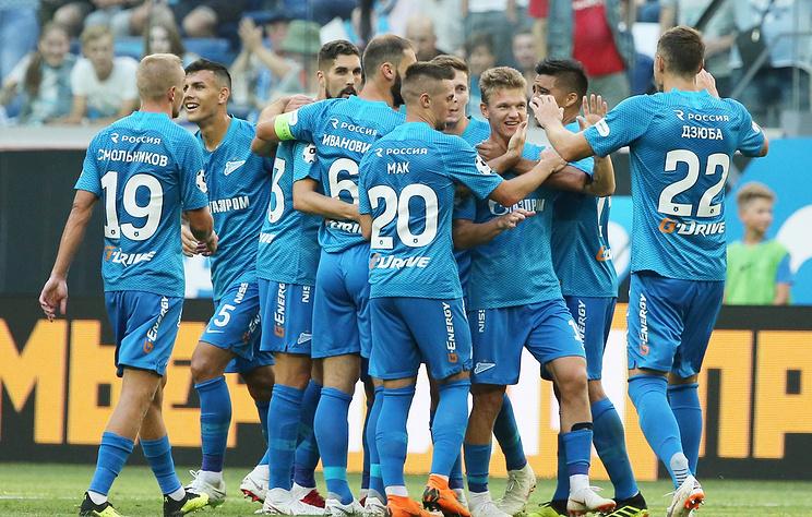 'Рубин' и 'Зенит' сыграют в матче 3-го тура чемпионата России по футболу