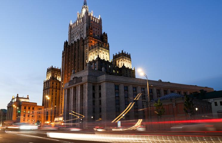 МИД РФ назвал новые санкции США попыткой наказать Москву за ее позицию в отношении КНДР