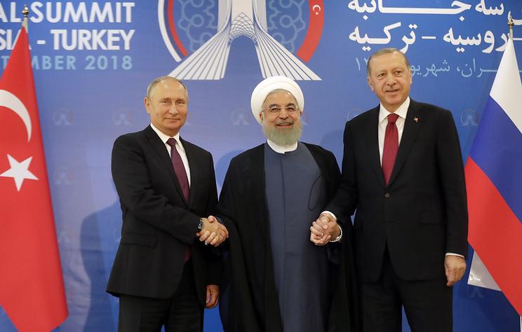 Путин предупредил президентов Ирана и Турции о подготовке террористами провокаций в Сирии