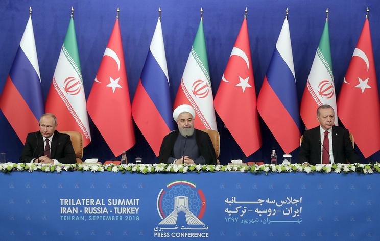 РФ, Иран и Турция призвали мировое сообщество увеличить помощь Сирии