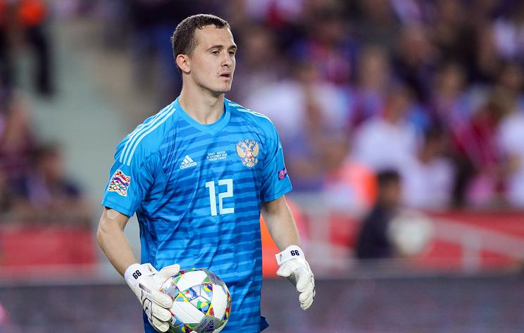 Лунев: сборной России была важна поддержка болельщиков на матче Лиги наций