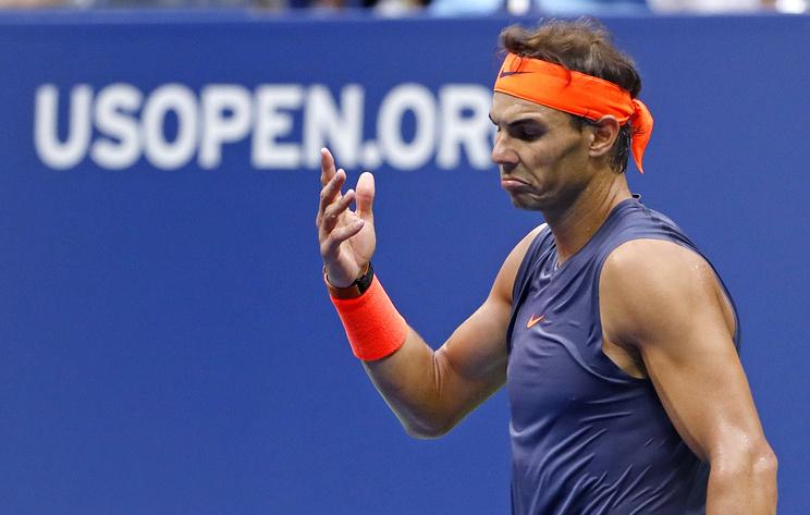 Надаль не смог завершить полуфинал US Open из-за травмы