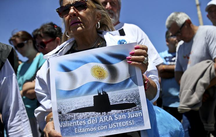 В Аргентине возобновили поиск подлодки San Juan