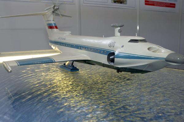 Россия начала разрабатывать ракетный экраноплан
