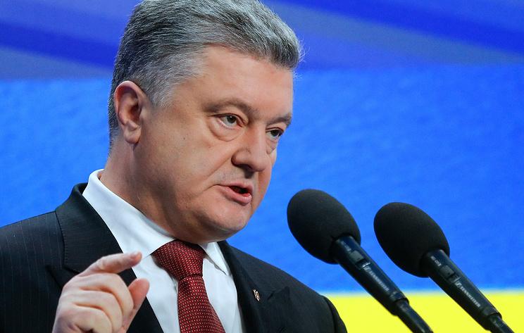 Порошенко пообещал поднять украинский флаг над Луганском