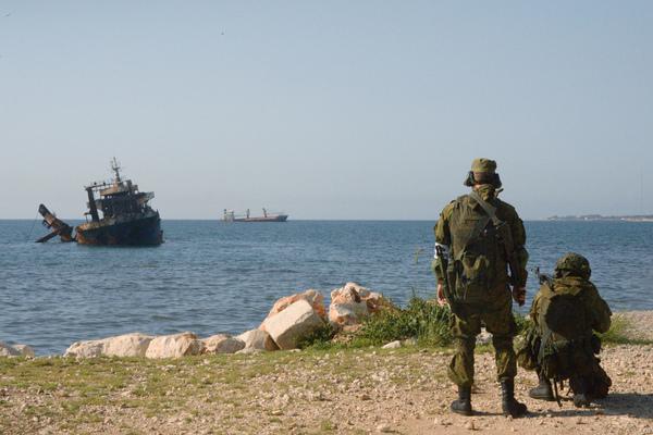 Российские морпехи высадились в Сирии