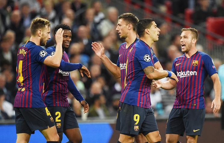 'Барселона' обыграла в гостях 'Тоттенхэм' в матче Лиги чемпионов
