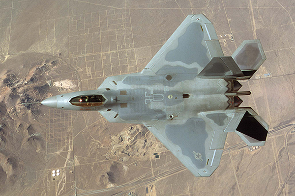 США в Сирии применят F-22 в ответ на поставку С-300
