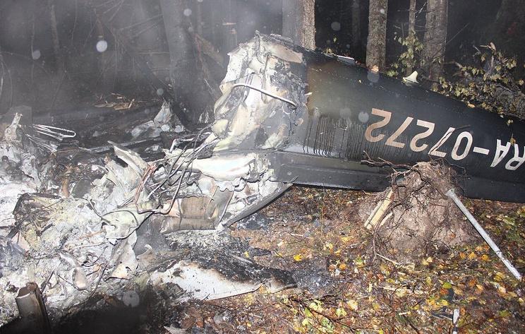 Источник: на месте крушения вертолета под Костромой нашли останки четвертого погибшего