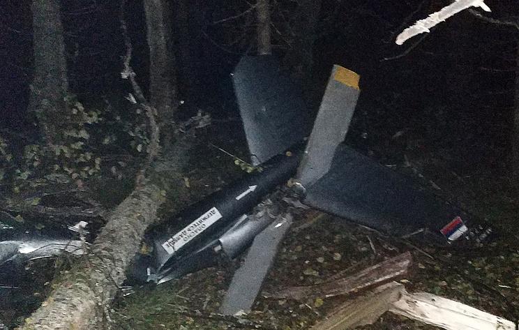 Пилот разбившегося в Костромской области вертолета сообщил о завершении полета