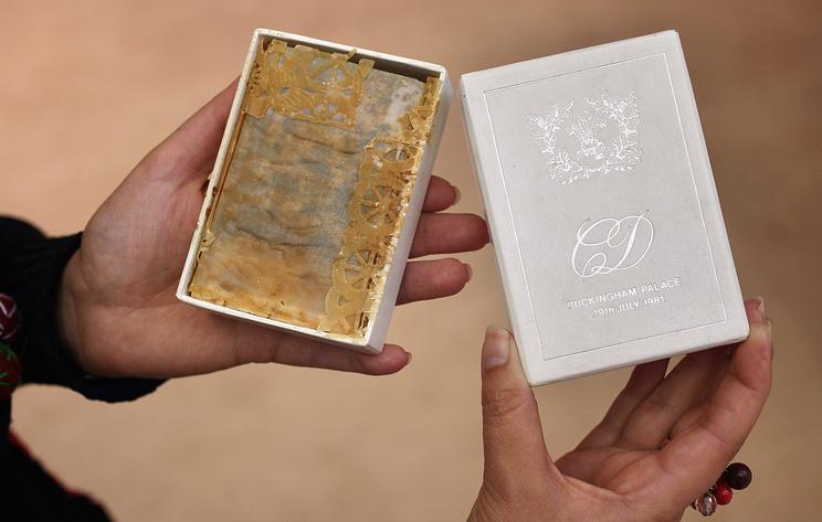 В Англии на аукцион выставили кусок торта со свадьбы принцессы Дианы и принца Чарльза