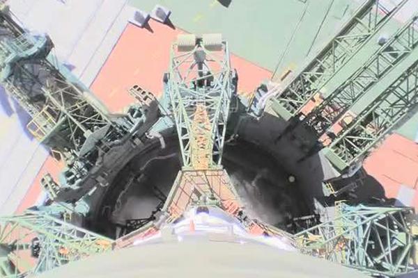 Опубликовано видео аварии «Союза» с бортовых камер