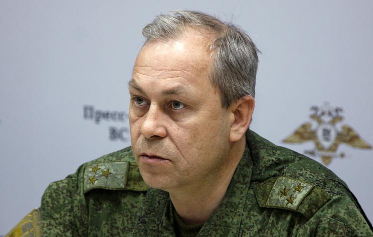 Басурин: грузовик ВСУ подорвался на собственной мине у линии разграничения в Донбассе