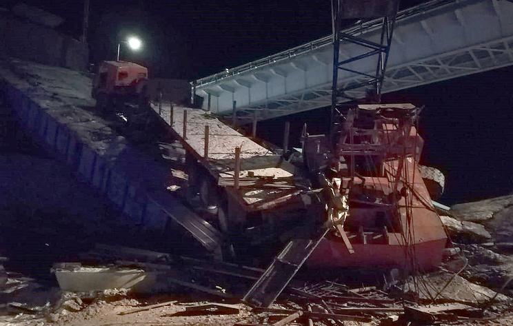 Прокуратура начала проверку после обрушения моста в ХМАО