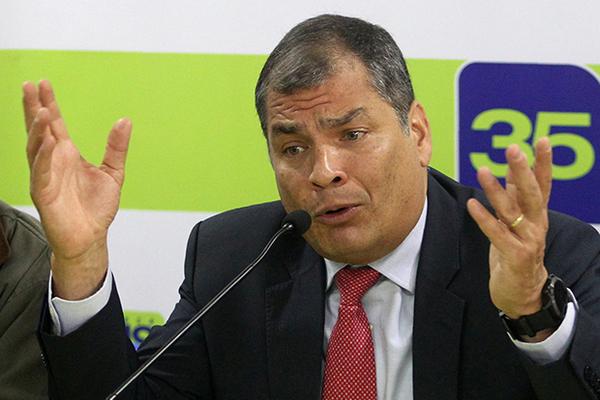 Бывший президент Эквадора запросил убежище в Европе