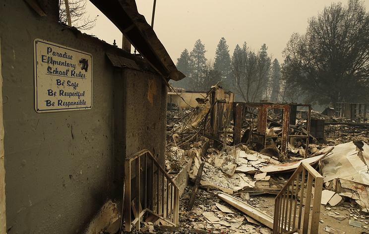 Число жертв пожаров в Калифорнии возросло до 48