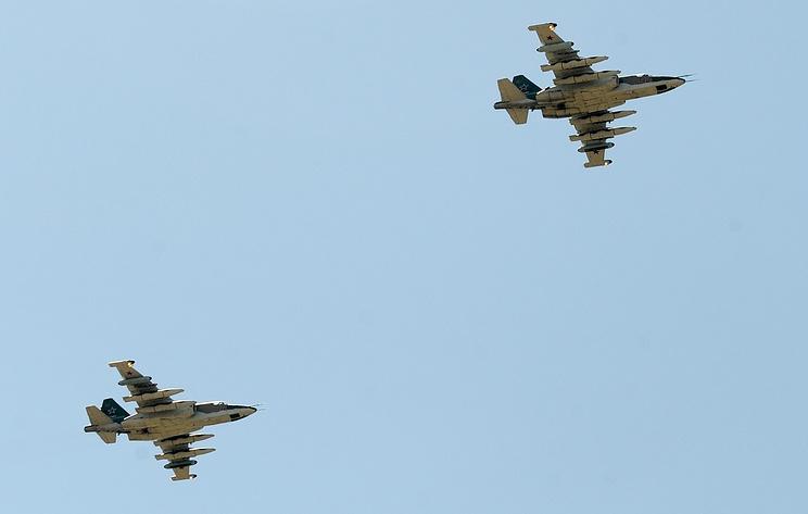 Летчики штурмовой авиации ВВО уничтожили полевой лагерь условных террористов в Приморье