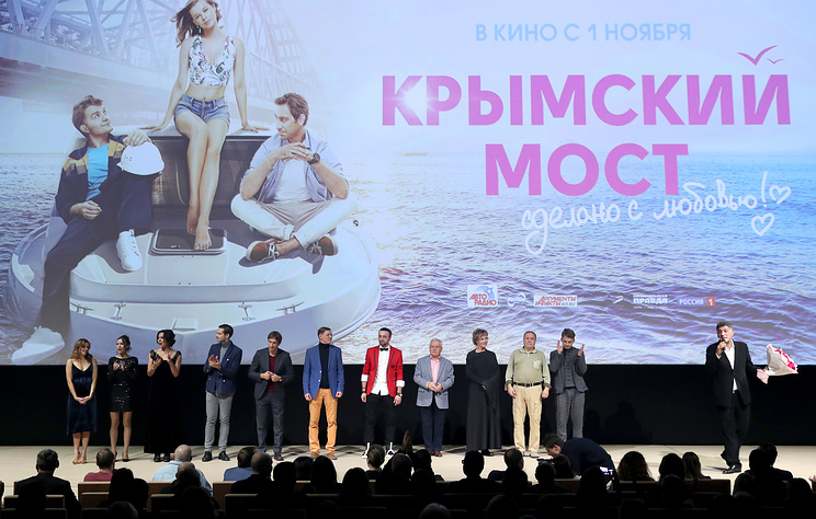 Мединский: фильм 'Крымский мост' получил деньги от Фонда кино по конкурсу