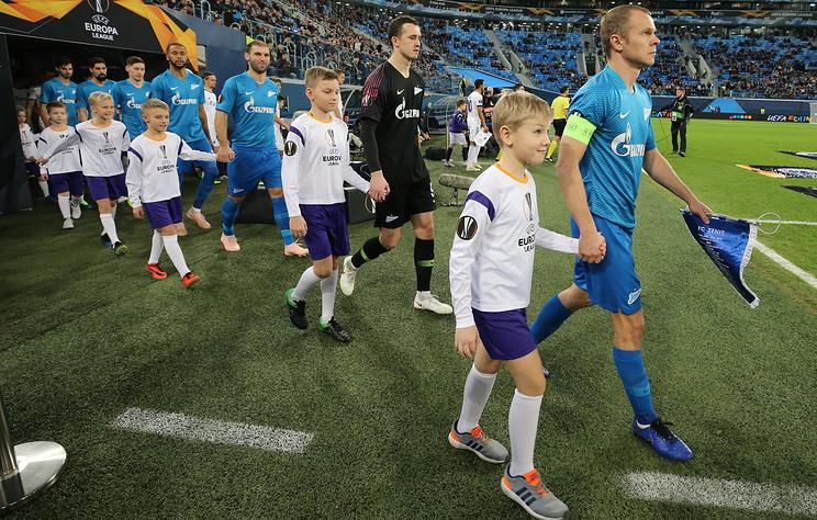'Зенит' и 'Краснодар' увеличили отрыв России от Португалии в таблице коэффициентов УЕФА