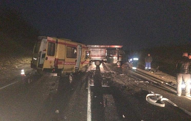 Шесть человек погибли в ДТП с участием машины скорой помощи на Кубани