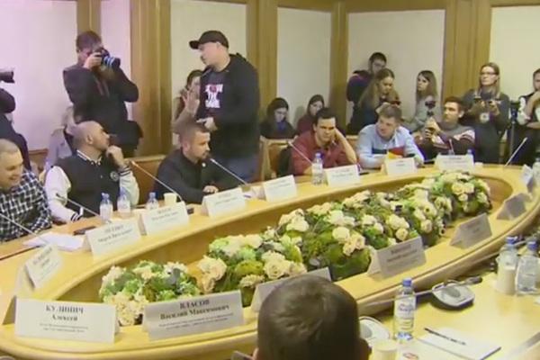 Жиган демонстративно ушел с заседания рэперов в Госдуме