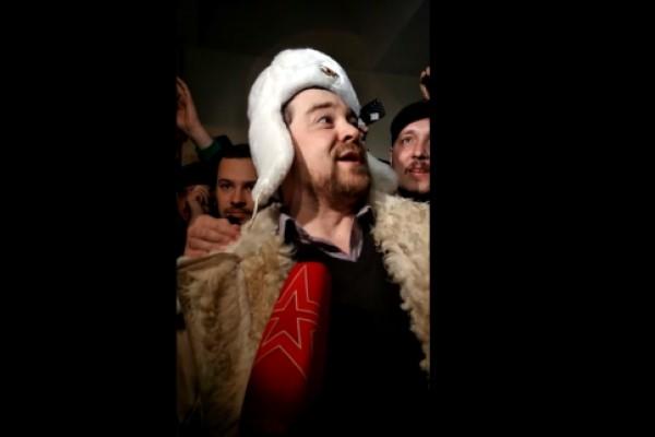 Освобожденный Давидыч обратился к толпе