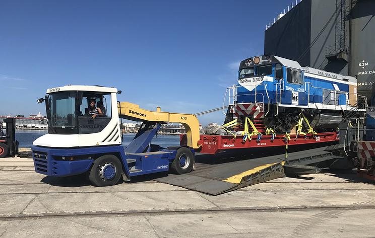 Россия поставила Кубе семь локомотивов для развития железнодорожных перевозок