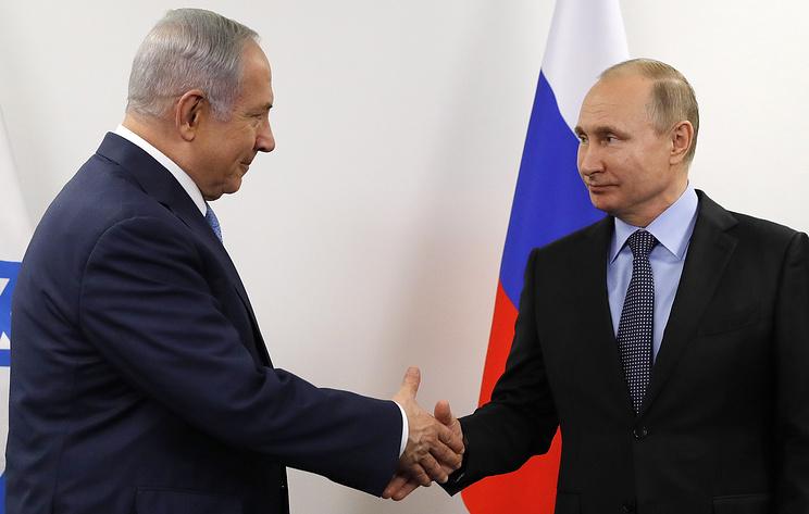 Путин и Нетаньяху обсудили обстановку в Сирии
