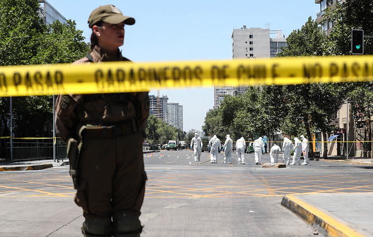 Власти Чили признали терактом взрыв на автобусной остановке