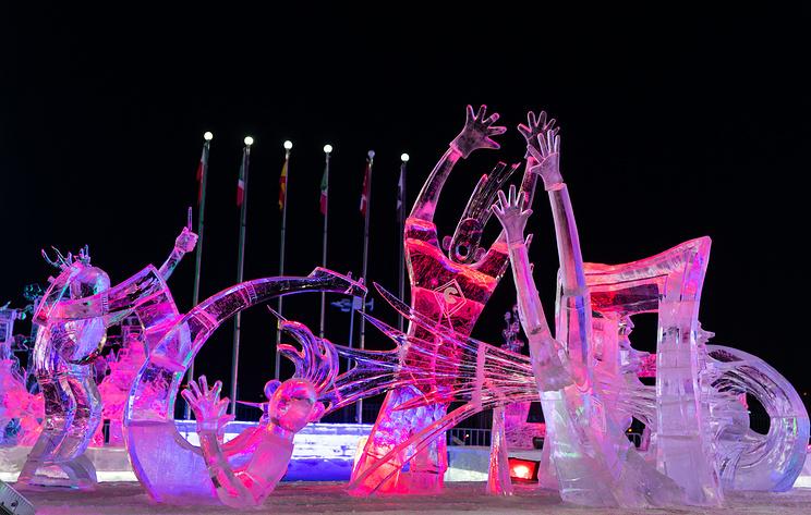 В Харбине открылся 35-й Международный фестиваль снега и льда