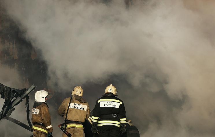 Площадь пожара на Приобском месторождении нефти в ХМАО увеличилась до 400 кв. м