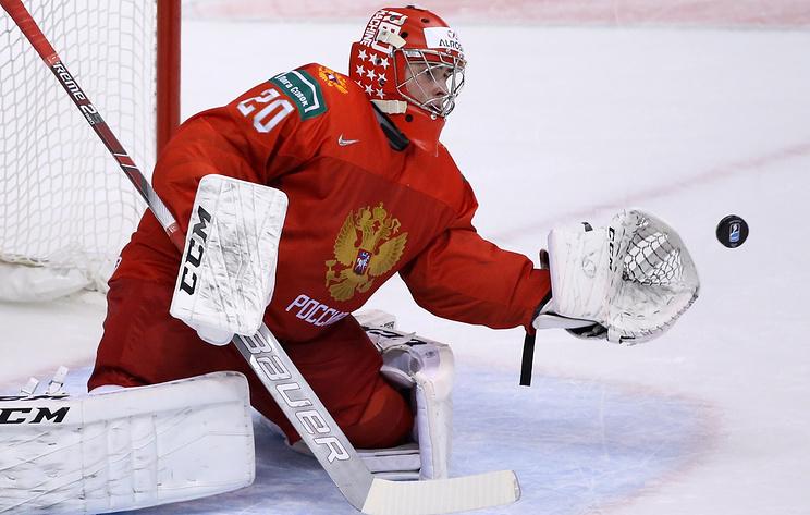 Россиянин Кочетков признан лучшим вратарем МЧМ по хоккею, Романов - лучший защитник