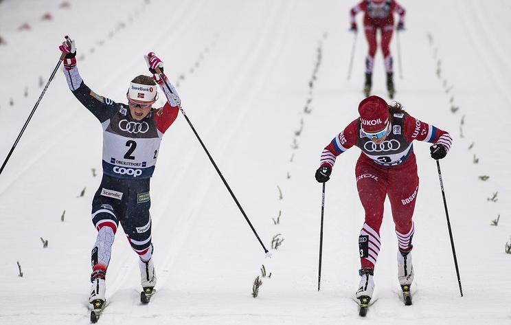 Российские и норвежские лыжники на 'Тур де Ски' отрепетировали битву на чемпионате мира