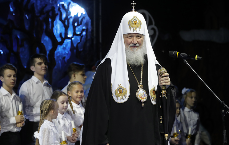 Патриарх Кирилл пожелал в Рождество обрести доброту