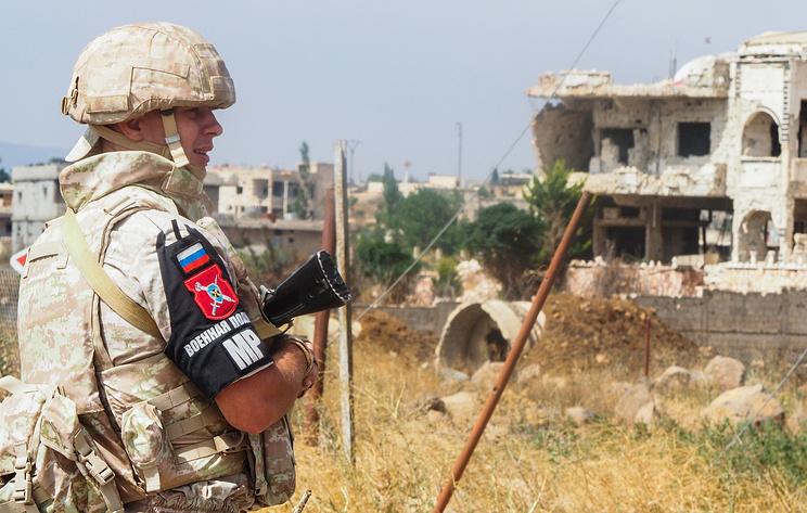 Военная полиция ВС РФ начала патрулировать сирийскую территорию близ границы с Турцией