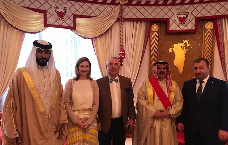 Король Бахрейна принял делегацию Российской академии естественных наук