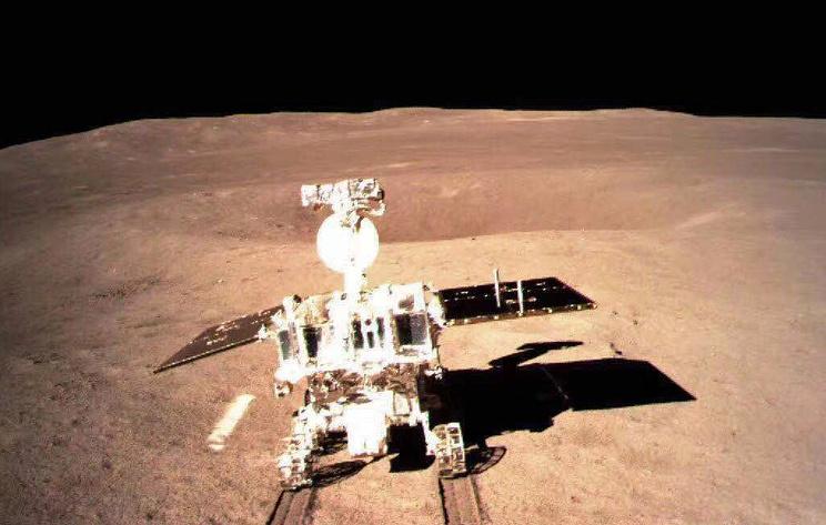 Опубликовано видео посадки космического аппарата 'Чанъэ-4' на обратную сторону Луны