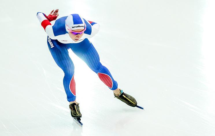 Конькобежка Казелина стала второй на дистанции 500 м на ЧЕ в классическом многоборье