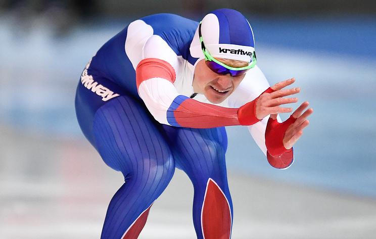 Конькобежец Кузнецов занял четвертое место на ЧЕ в спринтерском многоборье